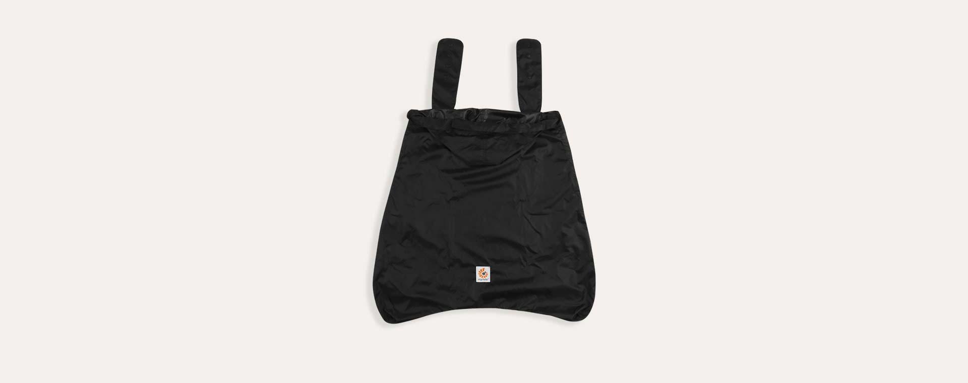 Black Ergobaby Carrier Rain Cover