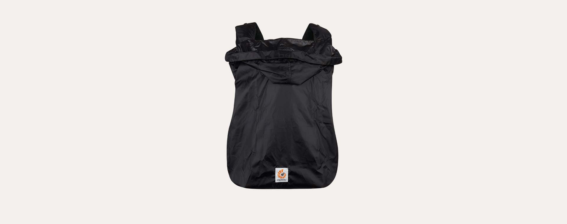 Black Ergobaby Carrier Rain Cover