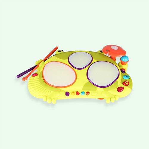 Multi B. Toys Ribbit-tat-tat Drum