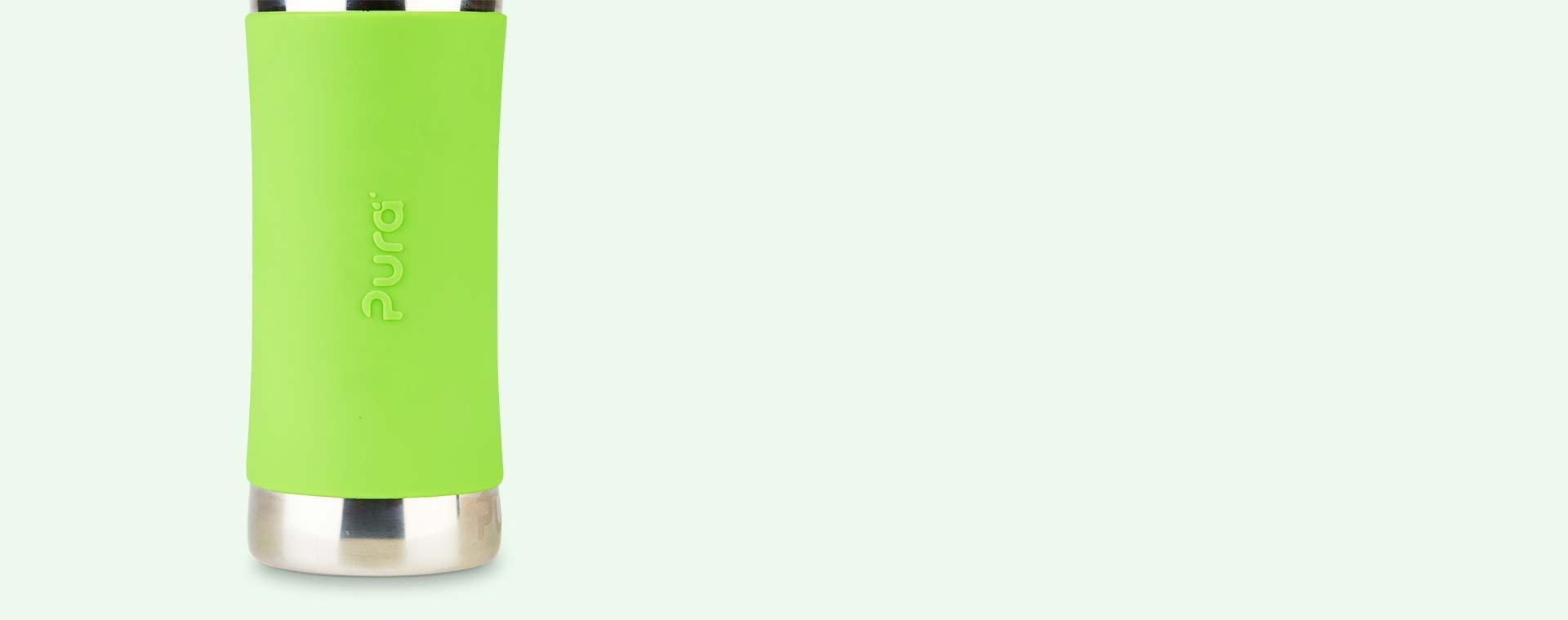 Green Pura 11oz Junior Sports Bottle