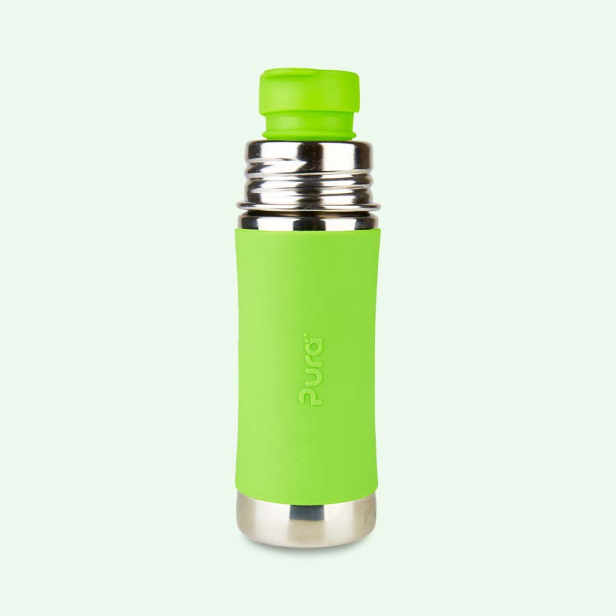 Green Pura 11oz Junior Sports Bottle