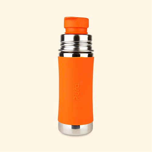 Orange Pura 11oz Junior Sports Bottle