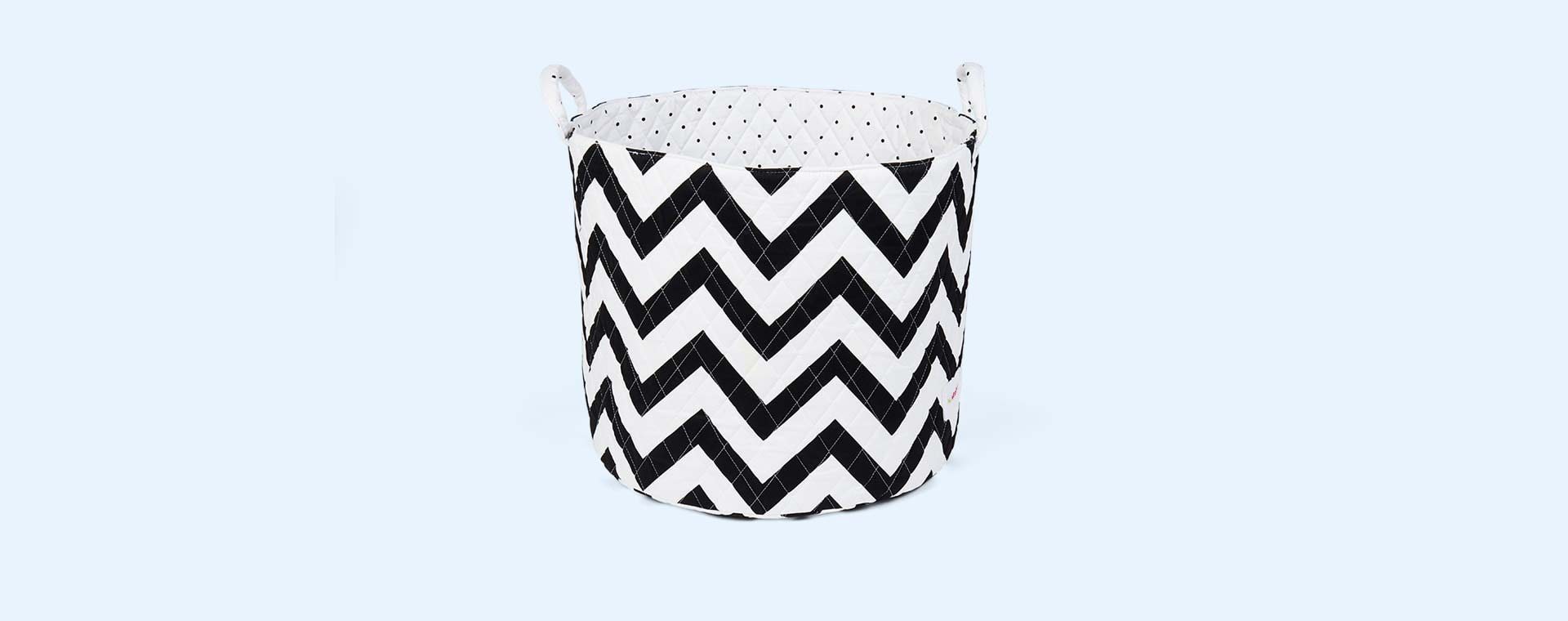 Chevron Minene Large Storage Basket