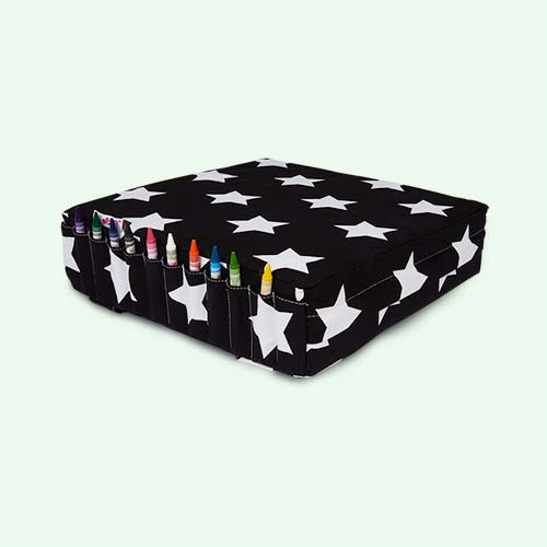 Black & White Stars Minene Mi Booster Cushion