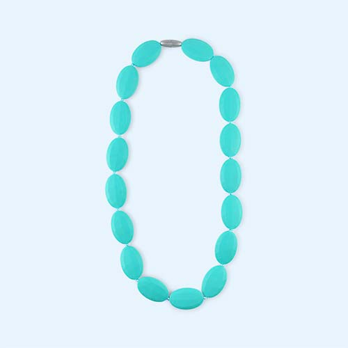 Turquoise Mama+Belle Juliette Necklace