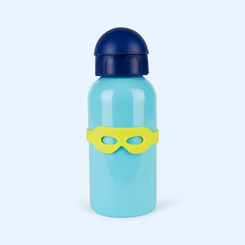 Blue Super Petit Stainless Steel Sports Bottle