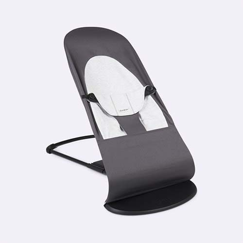 Dark Grey BabyBjorn Bouncer Balance Soft