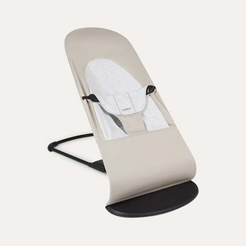 Beige/Grey BabyBjorn Bouncer Balance Soft