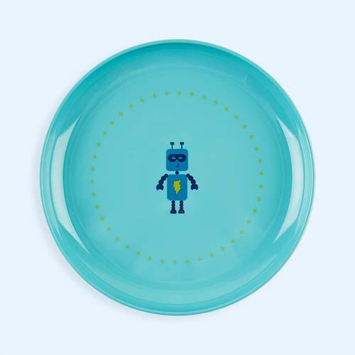 Blue Super Petit Melamine Plate