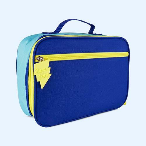 Blue Super Petit Lunch Bag
