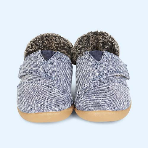 Chambray TOMS House Slipper