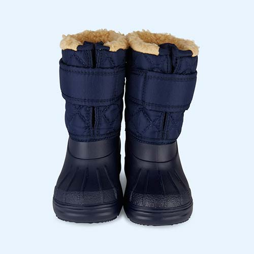 Navy igor Fur Lined Topo Ski Boot