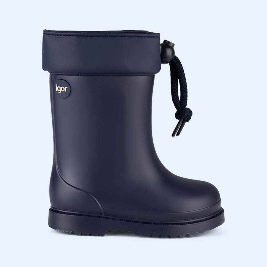 Navy igor Chufo Cuello Welly Boot