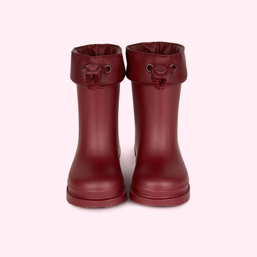 Burdeos igor Chufo Cuello Welly Boot