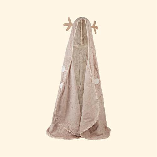 Neutral Cuddledry Cuddledeer Toddler Towel