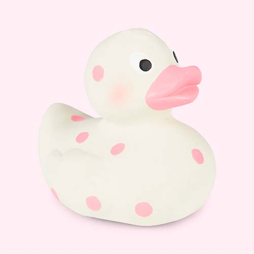 Pink Cuddledry Cuddleduck Bath Toy