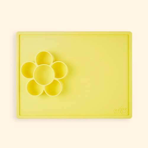 Yellow EZPZ Flower Mat