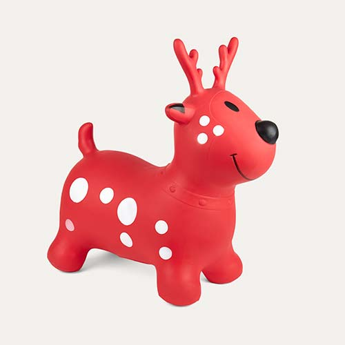 Red Happy Hopperz Deer Happy Hopper