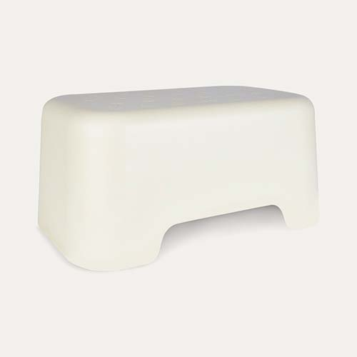 White EKOBO Step Stool