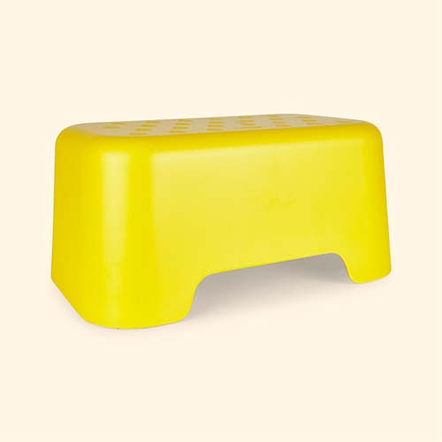 Yellow EKOBO Step Stool