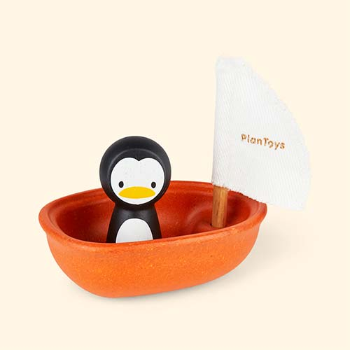 Penguin Plan Toys Sailing Boat
