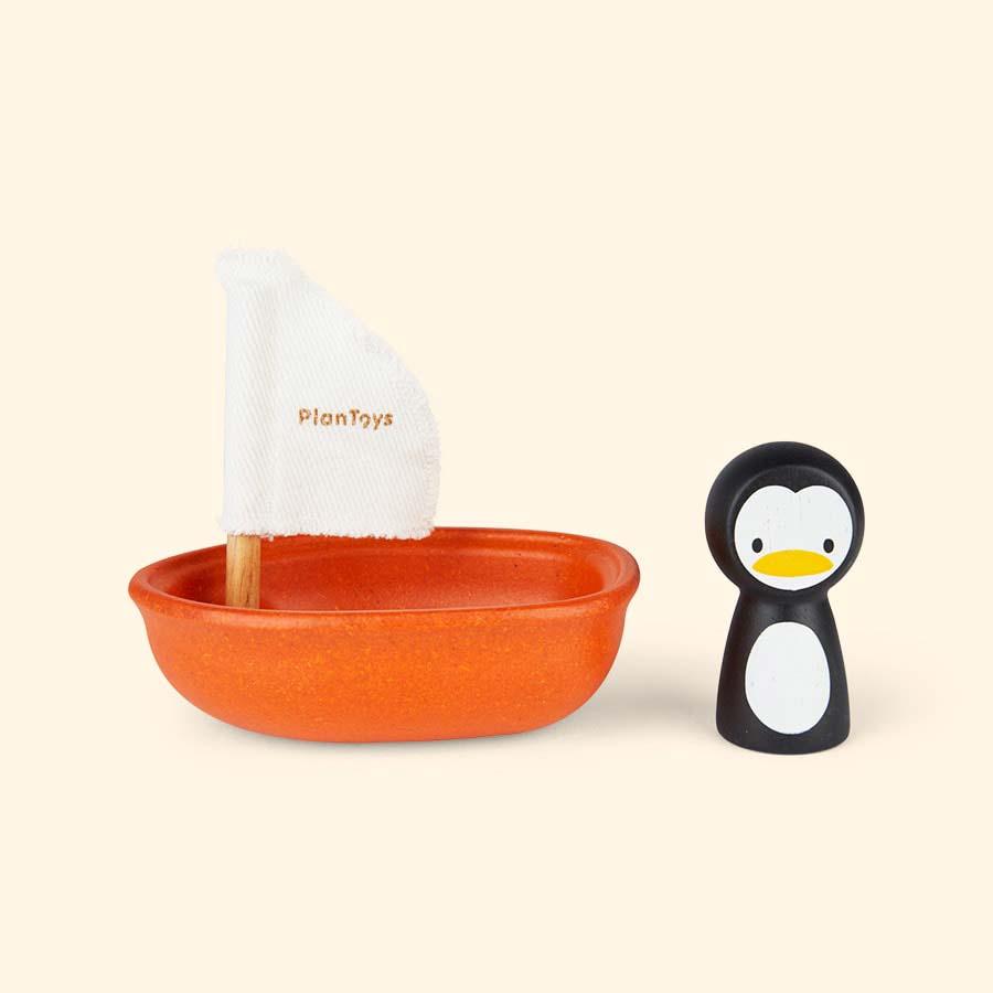 Penguin Plan Toys Sailing Boat