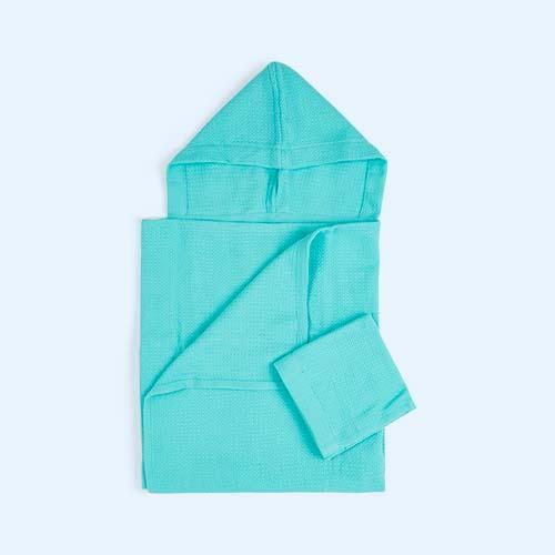 Lagoon EKOBO Baby Hooded Towel and Wash Cloth Set