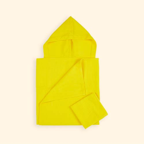 Lemon EKOBO Baby Hooded Towel and Wash Cloth Set