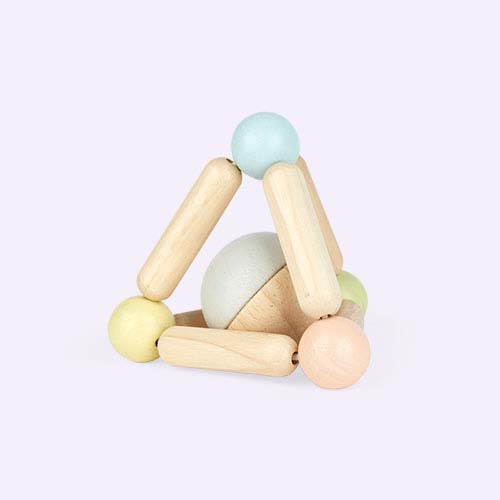 Pastels Plan Toys Triangle Clutching Toy
