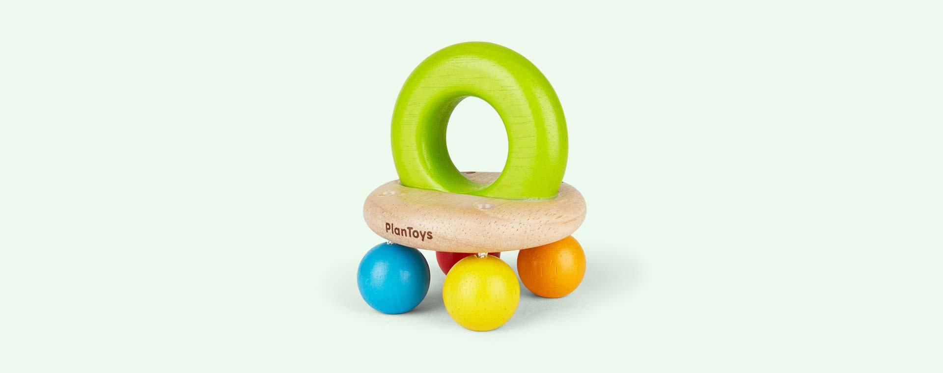 Multi Plan Toys Bell Rattle