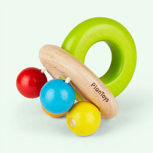 Multi Plan Toys Bell Rattle