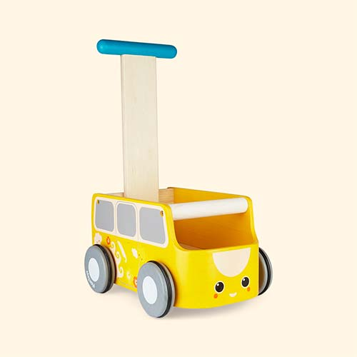 Yellow Plan Toys Van Walker