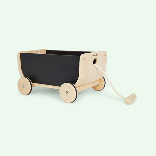 Black Plan Toys Wagon