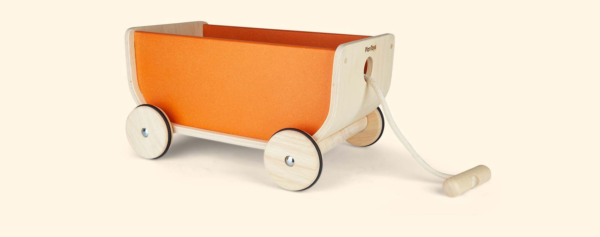 Orange Plan Toys Wagon