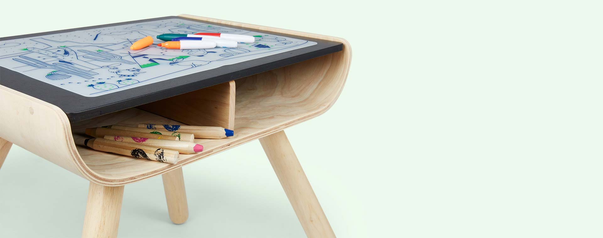 Buy The Plan Toys Table Amp Chair At Kidly Uk
