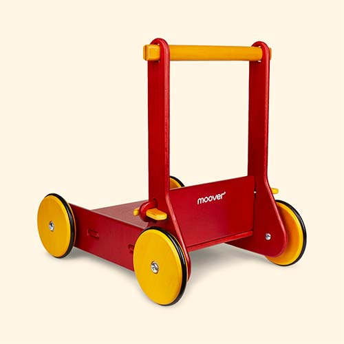 Red Moover Baby Walker