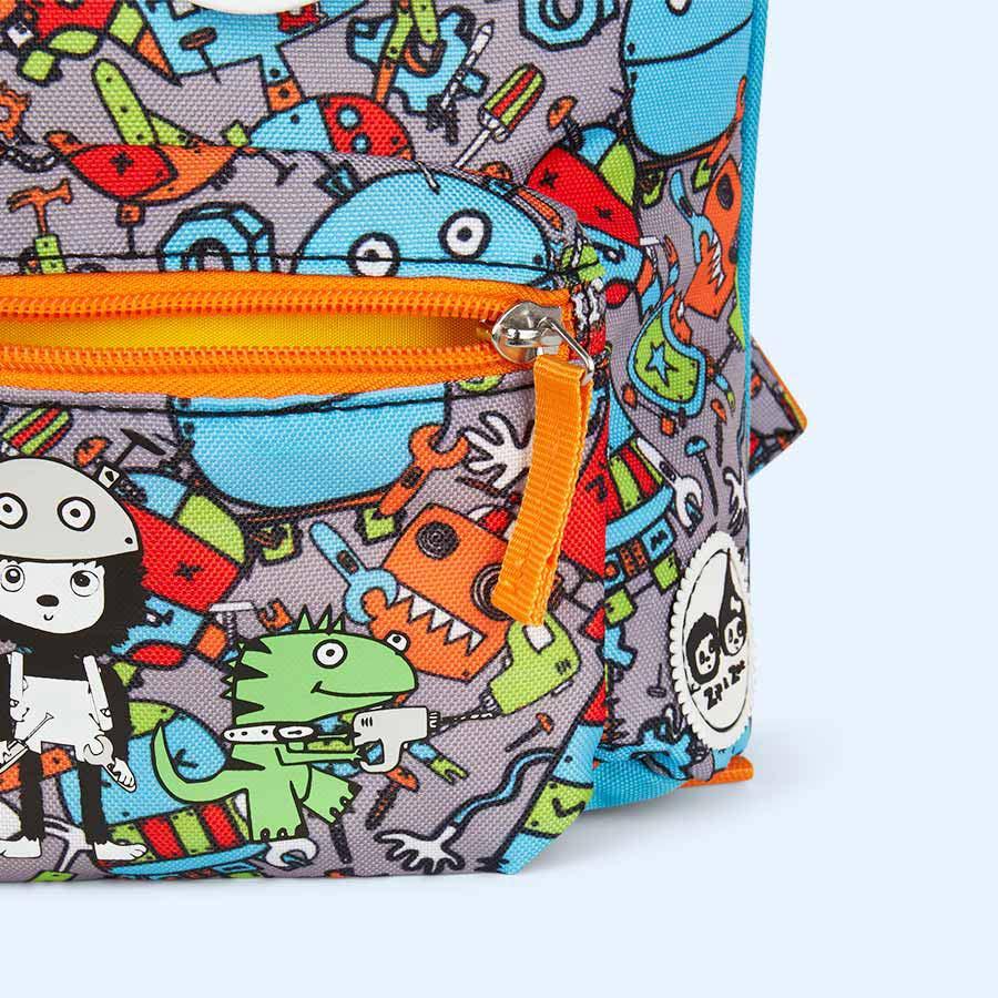 Robot Babymel Mini Kids Backpack with Rein