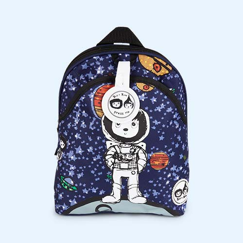 Spaceman Babymel Mini Kids Backpack with Rein