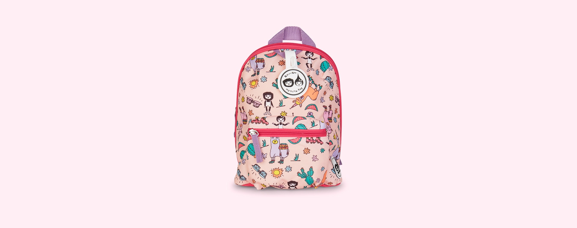 Llama Babymel Mini Kids Backpack with Rein