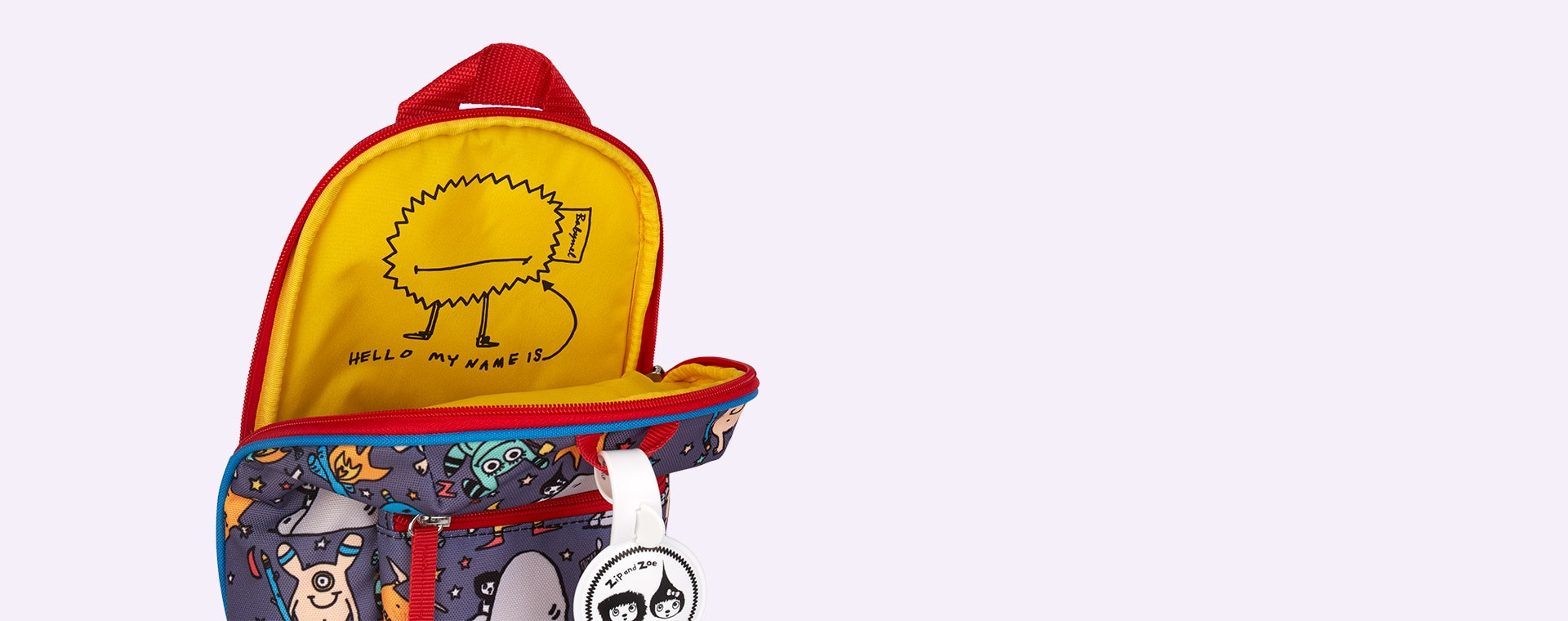 Monster Babymel Mini Kids Backpack with Rein