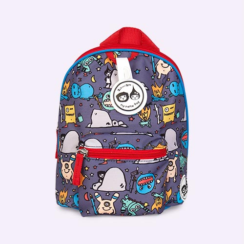 Monster Babymel Mini Kids Backpack with Rein