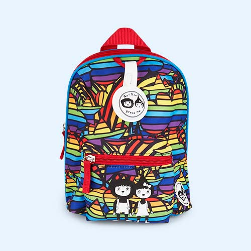 Rainbow Babymel Mini Kids Backpack with Rein