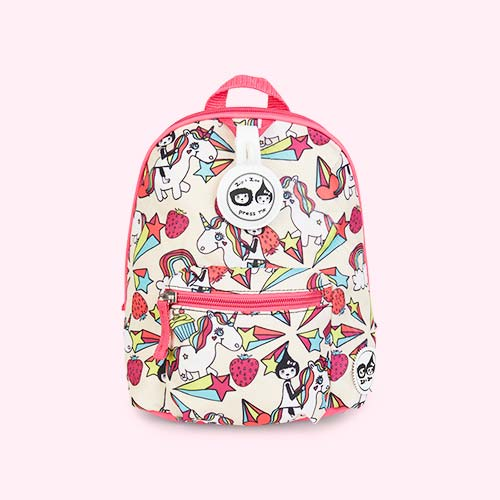 Unicorn Babymel Mini Kids Backpack with Rein