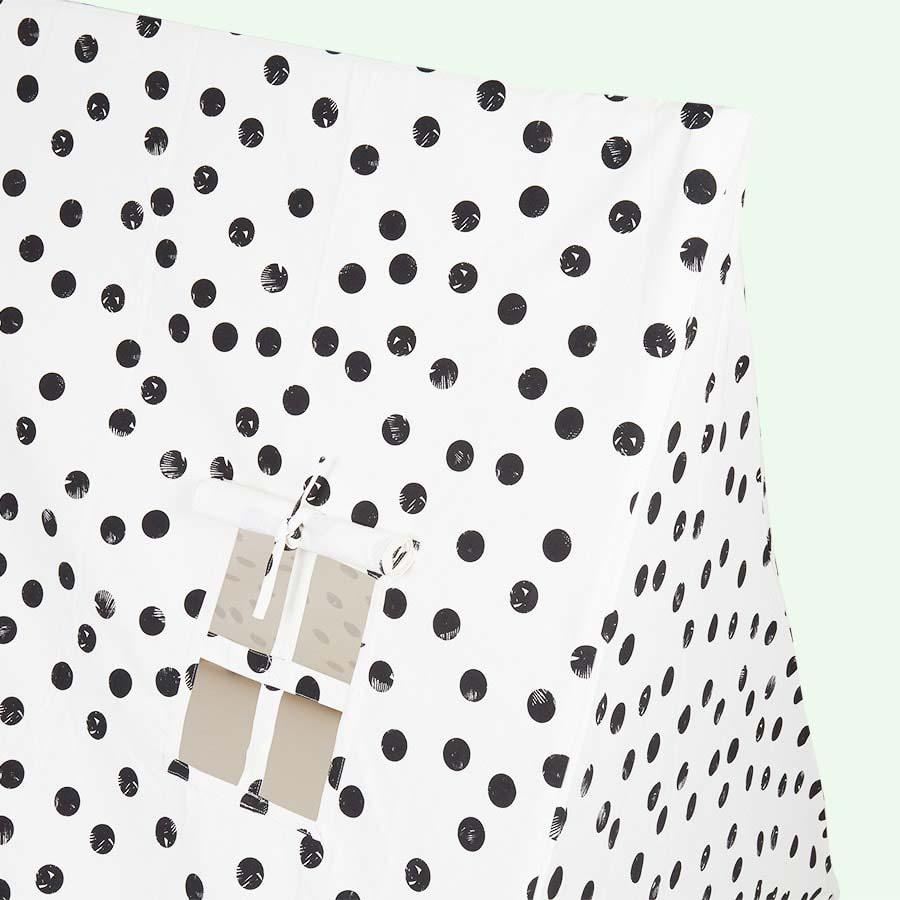 Black Dots Deuz Tent