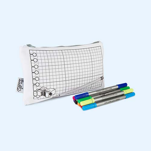 Notebook Eat Sleep Doodle Doodle Pencil Case