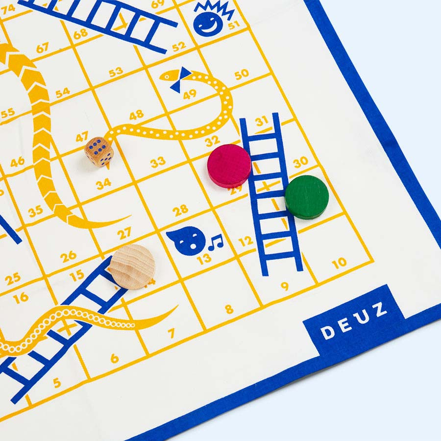 Yellow Deuz Super Snakes and Ladders