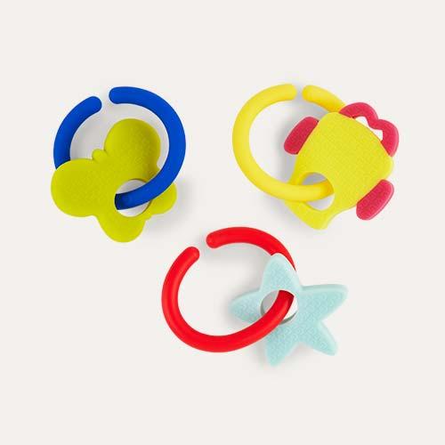 Multi Gummee Glove Link & Teethe Teethers
