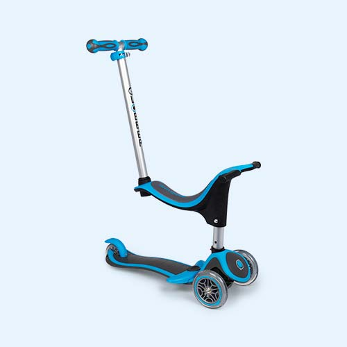Sky Blue Globber Evo 4-in-1 Plus Scooter