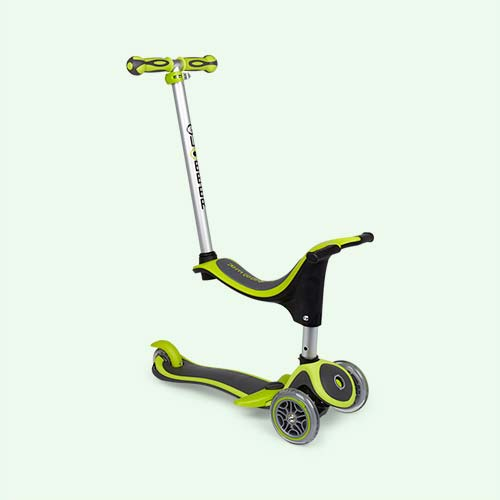 Lime Green Globber Evo 4-in-1 Plus Scooter
