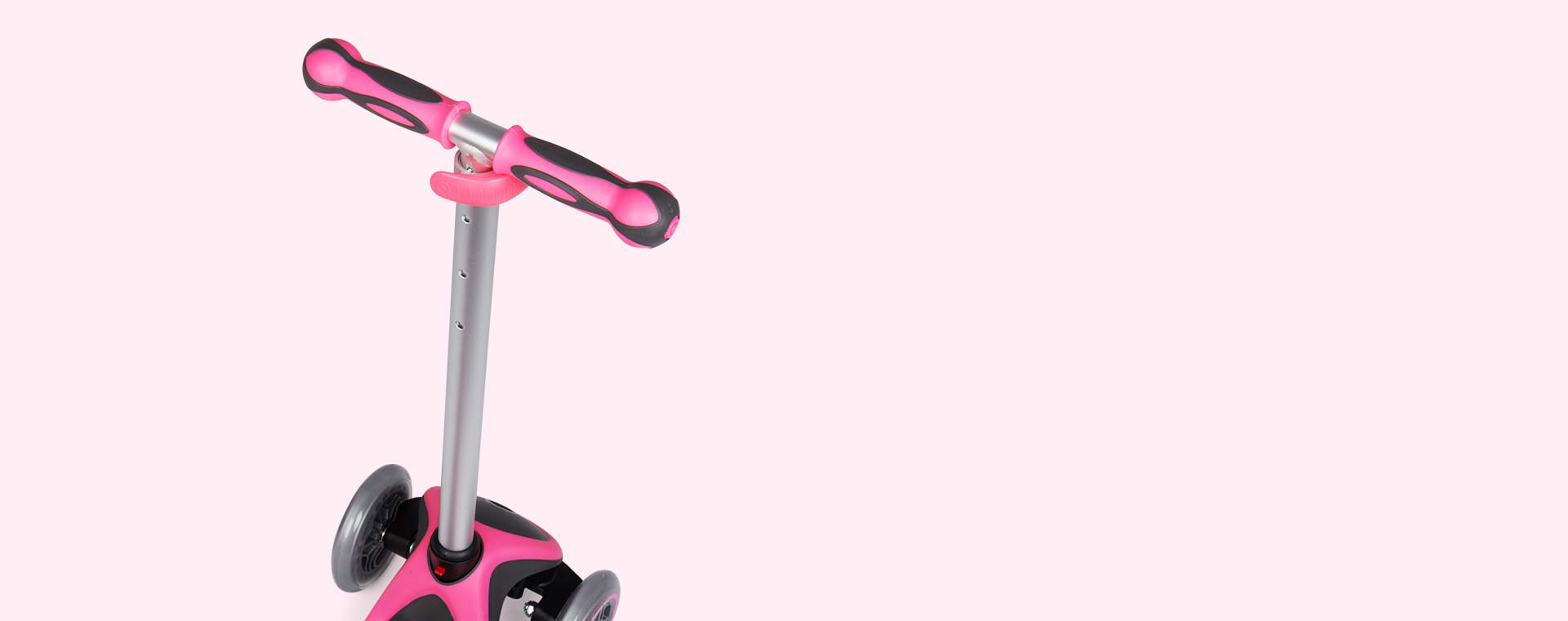 Deep Pink Globber Evo 4-in-1 Plus Scooter